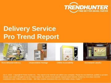Delivery Service Trend Report and Delivery Service Market Research