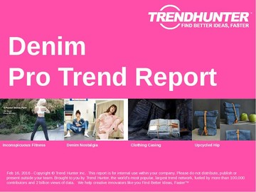 Denim Trend Report and Denim Market Research