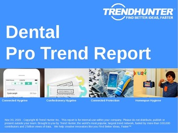 Dental Trend Report and Dental Market Research