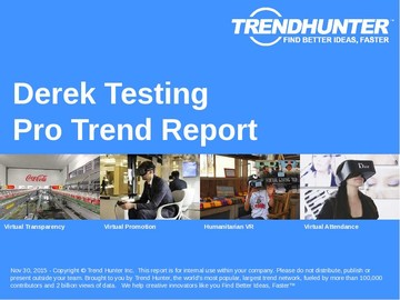 Derek Testing Trend Report and Derek Testing Market Research
