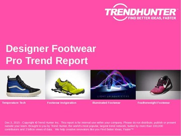 Designer Footwear Trend Report and Designer Footwear Market Research