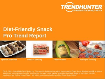 Diet-Friendly Snack Trend Report and Diet-Friendly Snack Market Research
