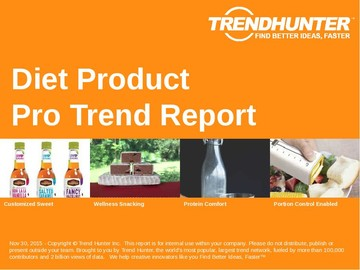 Diet Product Trend Report and Diet Product Market Research