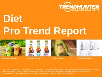 Diet Trend Report and Diet Market Research