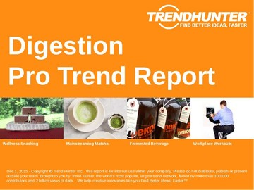 Digestion Trend Report and Digestion Market Research