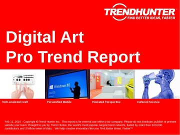 Digital Art Trend Report and Digital Art Market Research