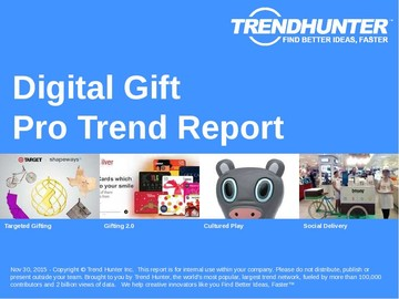 Digital Gift Trend Report and Digital Gift Market Research