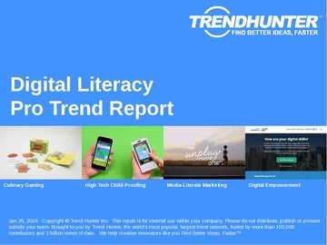 Digital Literacy Trend Report and Digital Literacy Market Research