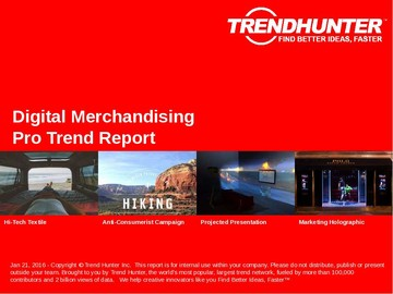 Digital Merchandising Trend Report and Digital Merchandising Market Research