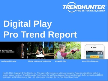 Digital Play Trend Report and Digital Play Market Research