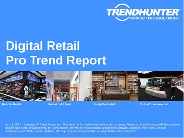Digital Retail Trend Report and Digital Retail Market Research
