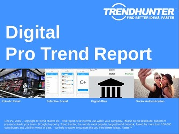 Digital Trend Report and Digital Market Research