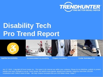 Disability Tech Trend Report and Disability Tech Market Research