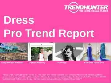 Dress Trend Report and Dress Market Research