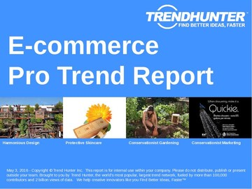 E-commerce Trend Report and E-commerce Market Research