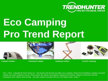 Eco Camping Trend Report and Eco Camping Market Research
