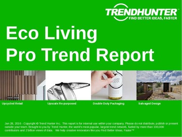 Eco Living Trend Report and Eco Living Market Research