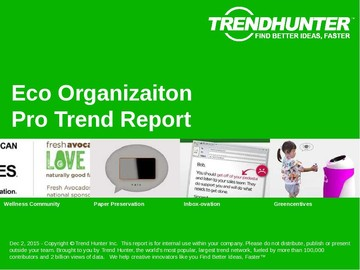 Eco Organizaiton Trend Report and Eco Organizaiton Market Research