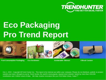 Eco Packaging Trend Report and Eco Packaging Market Research