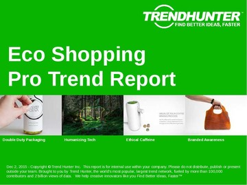 Eco Shopping Trend Report and Eco Shopping Market Research