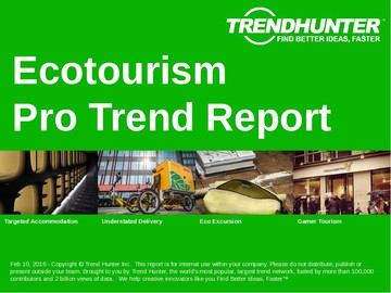 Ecotourism Trend Report and Ecotourism Market Research