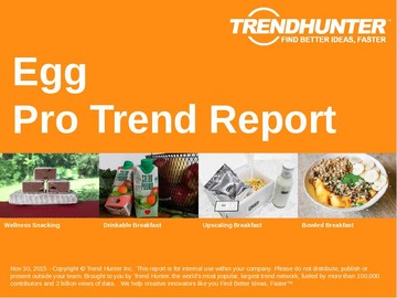 Egg Trend Report and Egg Market Research