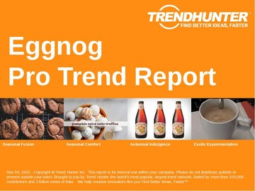 Eggnog Trend Report and Eggnog Market Research