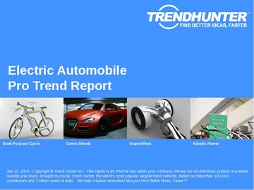 Electric Automobile Trend Report and Electric Automobile Market Research