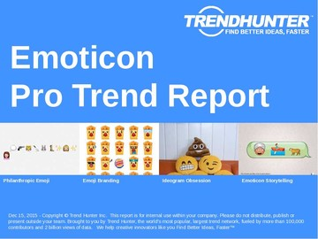 Emoticon Trend Report and Emoticon Market Research