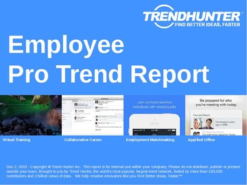 Employee Trend Report and Employee Market Research