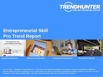 Entrepreneurial Skill Trend Report and Entrepreneurial Skill Market Research