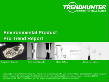 Environmental Product Trend Report and Environmental Product Market Research