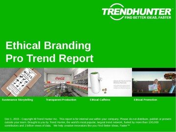 Ethical Branding Trend Report and Ethical Branding Market Research