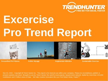 Excercise Trend Report and Excercise Market Research