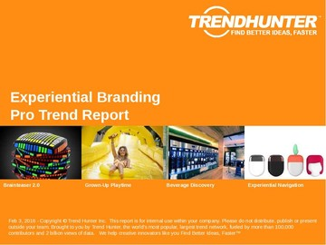Experiential Branding Trend Report and Experiential Branding Market Research