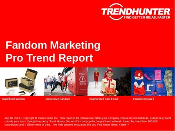 Fandom Marketing Trend Report and Fandom Marketing Market Research