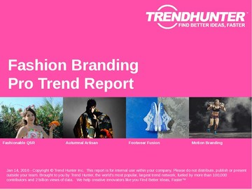 Fashion Branding Trend Report and Fashion Branding Market Research
