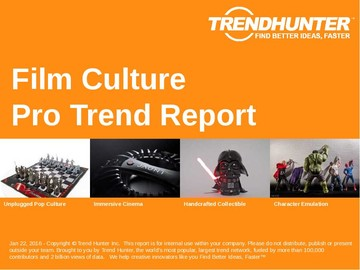 Film Culture Trend Report and Film Culture Market Research