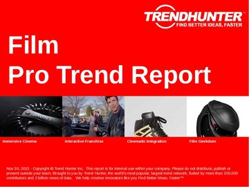 Film Trend Report and Film Market Research