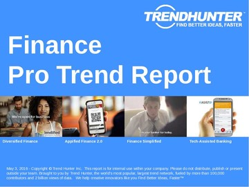 Finance Trend Report and Finance Market Research