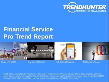 Financial Service Trend Report and Financial Service Market Research