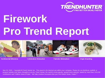 Firework Trend Report and Firework Market Research