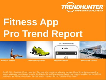 Fitness App Trend Report and Fitness App Market Research