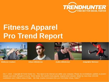 Fitness Apparel Trend Report and Fitness Apparel Market Research