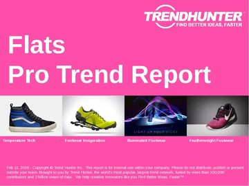 Flats Trend Report and Flats Market Research