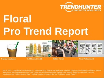 Floral Trend Report and Floral Market Research
