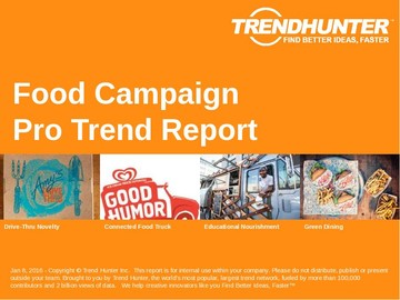 Food Campaign Trend Report and Food Campaign Market Research