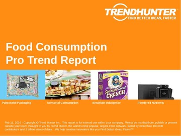 Food Consumption Trend Report and Food Consumption Market Research