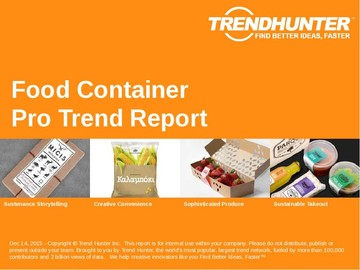 Food Container Trend Report and Food Container Market Research