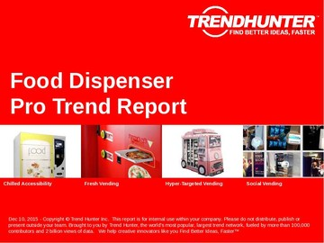 Food Dispenser Trend Report and Food Dispenser Market Research